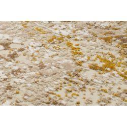 Béžovo zlatý koberec Bestseller Cava 303 kruh