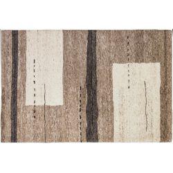 Vlnený koberec Natura N-515 pieskovo-biely