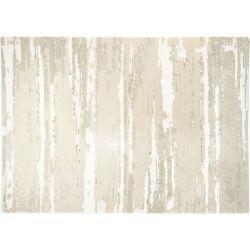 Koberec z vlny a prírodných materiálov Viktoria 5114 prírodná biela