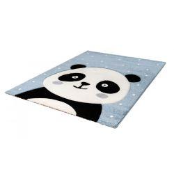 Detský modrý kusový koberec...