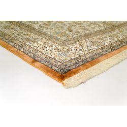 Klasický hodvábny koberec Kašmírsky hodváb single 16 creme