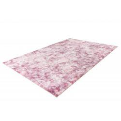 Kusový jemný shaggy koberec v ružovej farbe Bolero 500