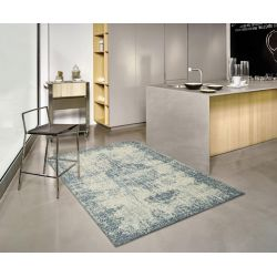 Kusový koberec Deco Light blue 27 L