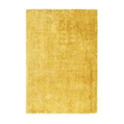 Žltý shaggy koberec Cloud 500