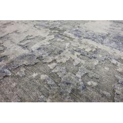 Luxusný 3D koberec Earth 669 šedá mix