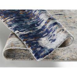 Luxusný 3D koberec Signatur Awaro 492 Modro hnedý