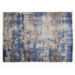 Luxusný 3D koberec Signatur Fusion 649 Modrý