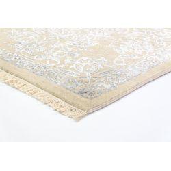 Luxusný koberec Empire Klassik krémovo-modrý