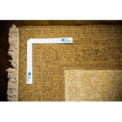 Luxusný koberec Moghul 1505 čokoládovohnedý-zlatý