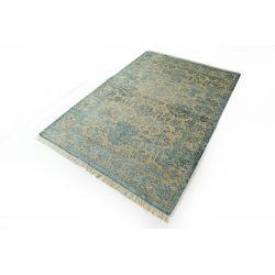 Luxusný vintage koberec Empire hsn modrý