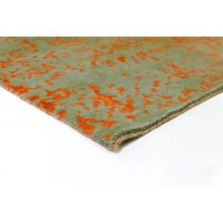 Moderný zelený vintage koberec Empire Klassik