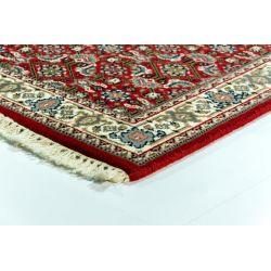 Orientálny koberec Mirzapur Herati Červeno krémová