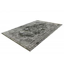 Strieborno zelený moderný koberec Elysee 902