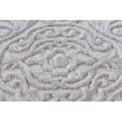 Strieborný vintage koberec Vendome 702