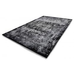 Trendový kusový koberec Bestseller Magic 604 schwarz-grau