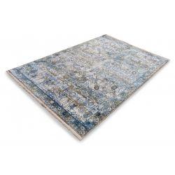 Trendový kusový koberec Bestseller Tadi 822 šedo modrý