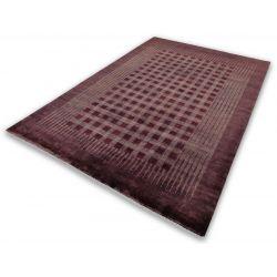 Vlnený koberec Nomadi Super 440 Chocolade