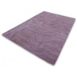 Vlnený moderný koberec Foglie 55