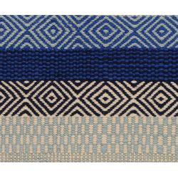 Vlnený tkaný koberec Nina 693 modrý