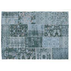 Zátažový koberec Alanis Allover 486 tyrkysový