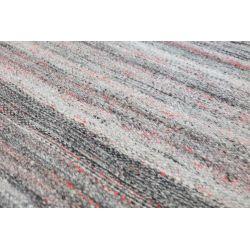 Zátažový obojstranný koberec Summertime svetlo šedý