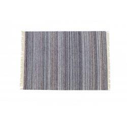 Zátažový obojstranný koberec Summertime šedý