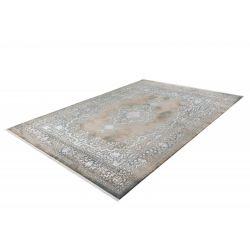 Šedo béžový moderný koberec Orsay 701