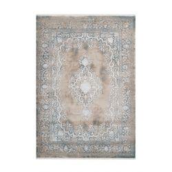 Šedo béžový moderný koberec...