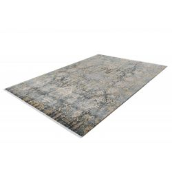 Šedo zlatý vintage koberec Orsay 700 Yellow