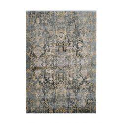 Šedo zlatý vintage koberec...
