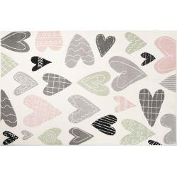 Detský kusový koberec Kiddy Love 598 multicolor