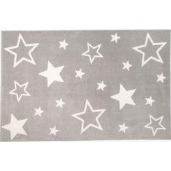 Detský kusový koberec Kiddy Star 640 grau
