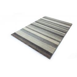 Koberec z vlny a prírodných materiálov  Ocean 1323 šedý