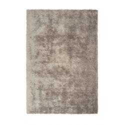 Šedohnedý shaggy koberec...