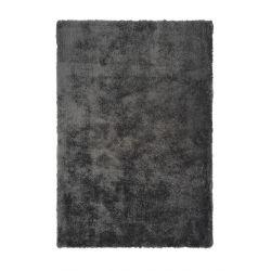 Antracitový shaggy koberec...