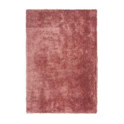 Rúžový shaggy koberec Cloud...