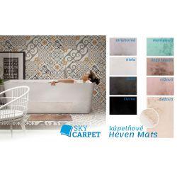 Kúpeľňová predložka Heaven Mats šedo hnedá