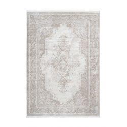 Krémový moderný koberec...