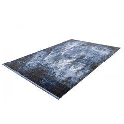 Modrý moderný koberec Elysee 904 Blue