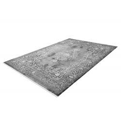 Strieborný moderný koberec Orsay 701 Silver