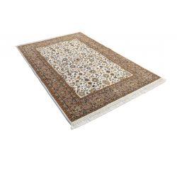Ručne tkaný indický koberec Ganga 708 Creme