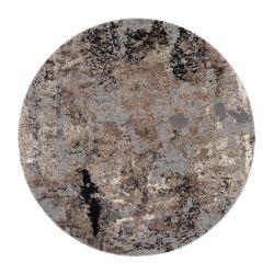 Kruhový Shaggy koberec...