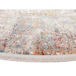 Trendový okrúhly koberec Bestseller Cava 598 Multicolor