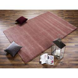 Shaggy koberec Bellevue 674 staroružová