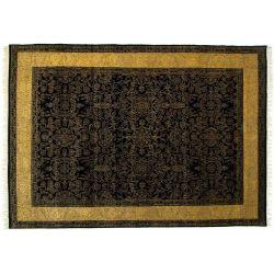 Orientálny koberec Moghul 443 čierny