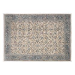 Klasický strojový koberec Grand Fashion 953 krémovo modrý