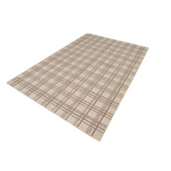 Moderný geometrický kusový koberec Handloom