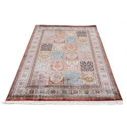Klasický hodvábny koberec Kašmírsky hodváb SG s poličkovým motívom