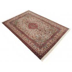 Klasický koberec v hnedej farbe Kašmírsky hodváb