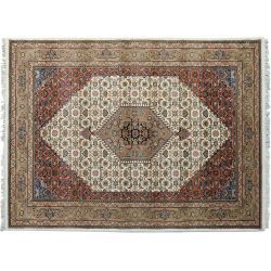 Ručne tkaný koberec z Indie Yammuna 9406